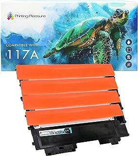 Printing Pleasure 117A 4 x Tóner Compatible con HP Color Laser 150a/nw/w MFP 178nw/nwg MFP 179fnw/fwg | W2070A W2071A W2072A W2073A con Chip
