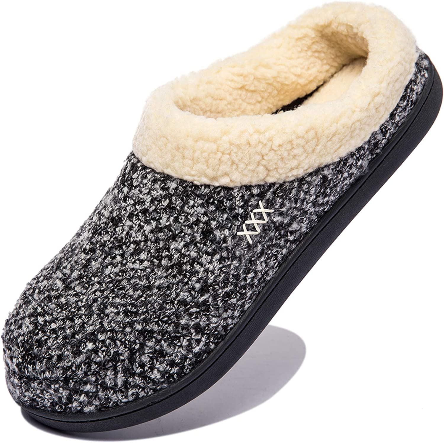 NewDenBer Women's Cozy Memory Foam Genuine Free Shipping Soft Slip Slippers Easy-to-use Indoor on