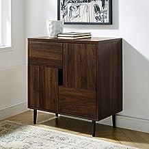 منصة للبوفيه طراز AZF30ADDDW حديثة اللون من شركة Walker Edison Furniture Company، خزانة للمدخل، طاولة المعيشة، 76.2 سم، بن...