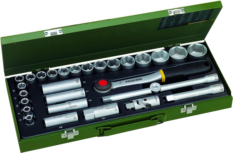 Proxxon23000Steckschlüsselsatz1 2Zoll29-teilig B000NDB93G | Haltbar  Haltbar  Haltbar  d7a1dd