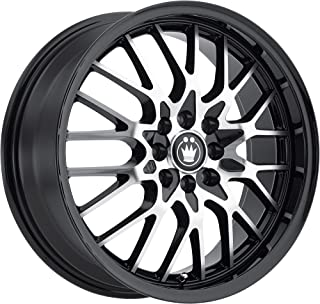 Konig Lace Black Wheel with Machined Face (15x6.5