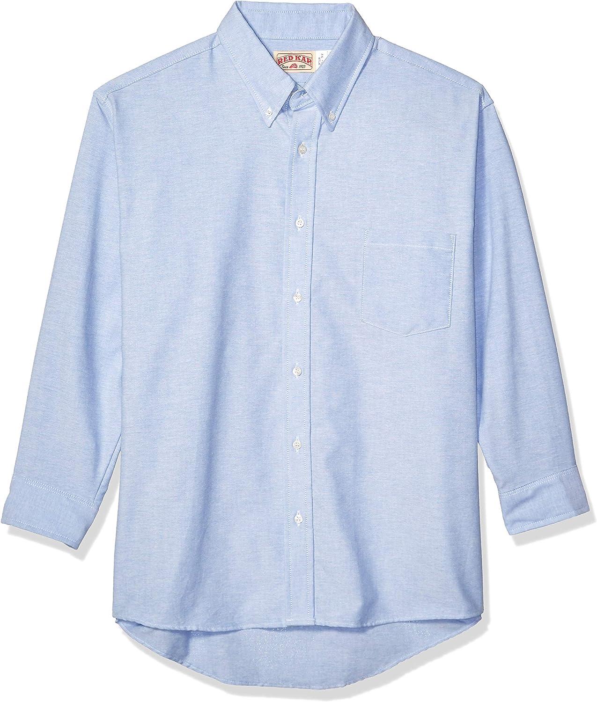 Red Kap Men's Long Sleeve Solid Oxford Executive Shirt