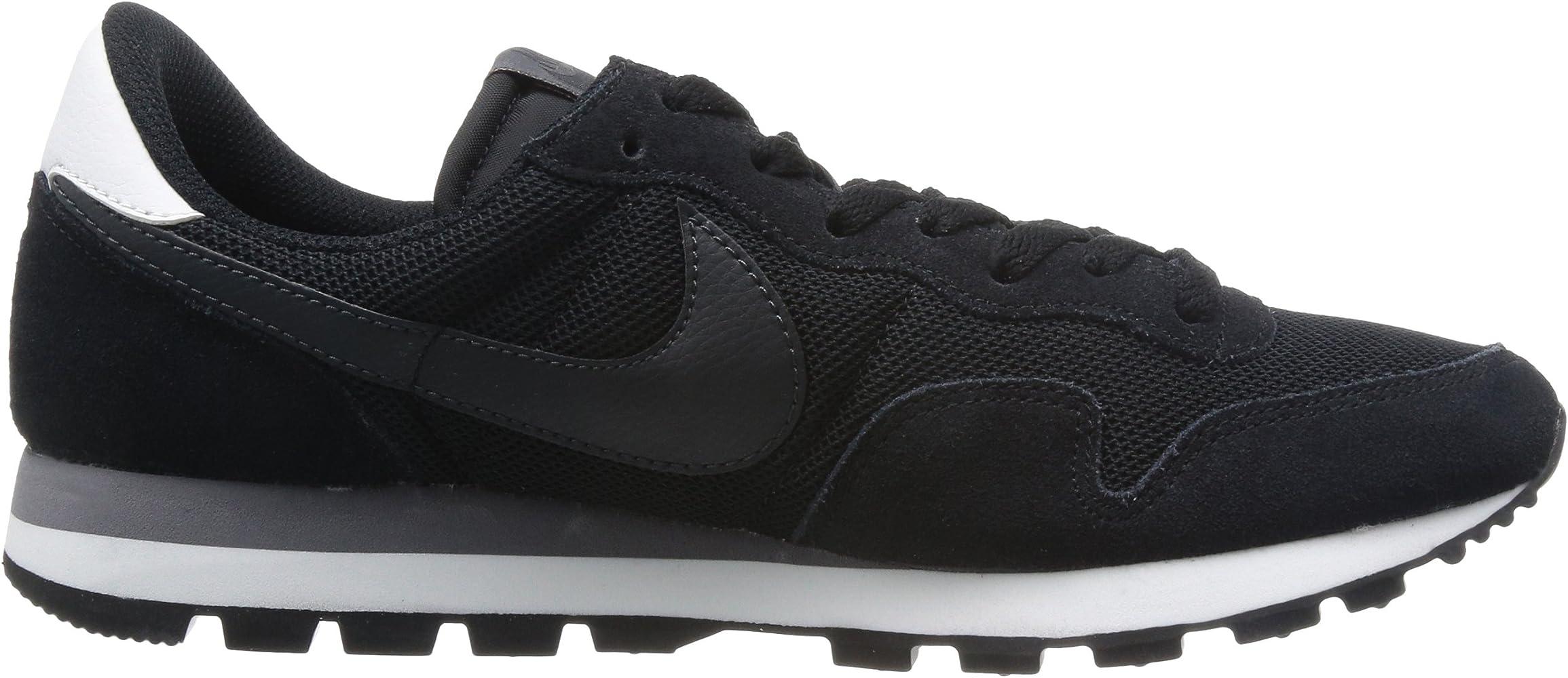 Nike Mens AIR Pegasus 83 Black/White 599124-003