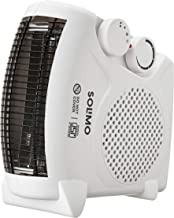 Amazon Brand - Solimo 2000-Watt Room Heater (ISI certified, White color, Ideal for small to medium room/area)