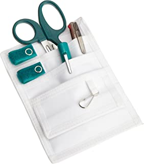 ADC Pocket Pal III Medical Accessories Nurse Kit, Includes MiniMedicut Shears, Adlite Plus Disposable Penlight, and 3-Color Pen, Teal