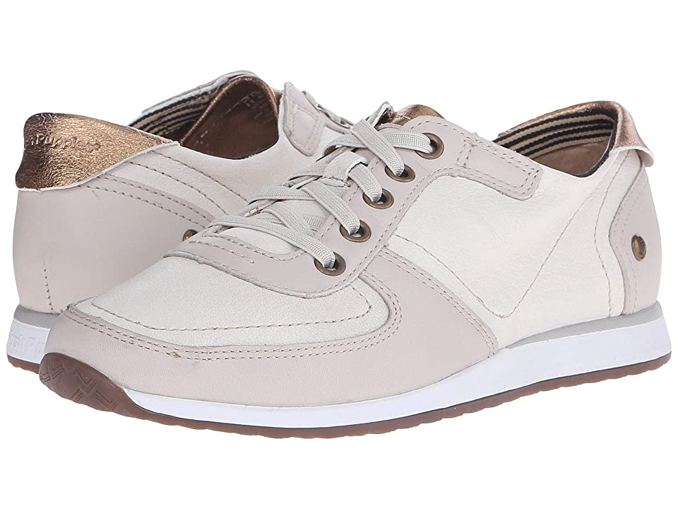 Hush Puppies Chazy Dayo (Off-White Leather) Women