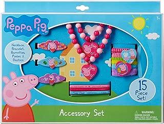 peppa pig hair bow