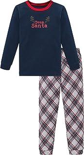 Family Kn Anzug Lang Juego de Pijama para Niños
