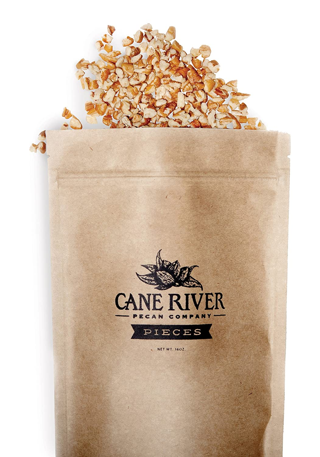 Fancy Medium Cut Direct sale of manufacturer Natural All stores are sold Pecan Pieces River pound - Cane bag 1