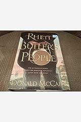 (Large Print) Rhett Butler's People (Hardcover) By Donald McCaig 2007 Hardcover