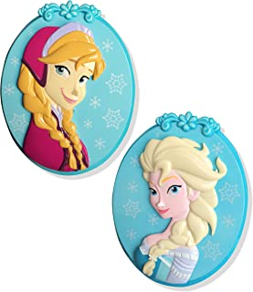 Frozen Elsa BocaClips by O2COOL, Beach Towel Holder, Clips, Set of two, Beach, Patio or Pool Accessories, Portable Towel Clips, Chip Clips, Secure Clips