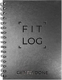 Cossac Fitness Log Book & Workout Planner - Designed by...