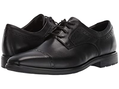 Rockport DresSports Business 2 Cap Toe (Black Glass) Men