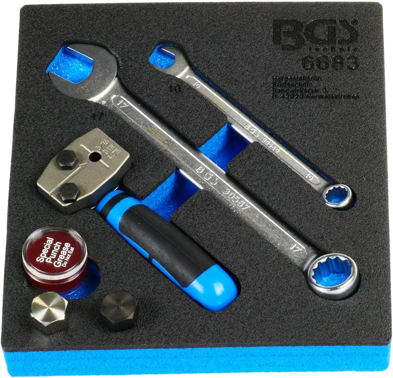BGS 3051 pressbügel spécifiquement pour utilisation avec Train et pression hülsensatz