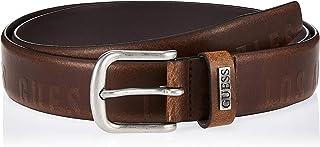 GUESS Men's Essential Belt, Brown (Brun/rich Earth A155), Large