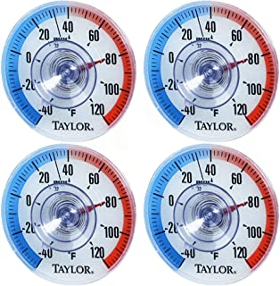 taylor Outdoor Stick Thermometer (Pack of 4)