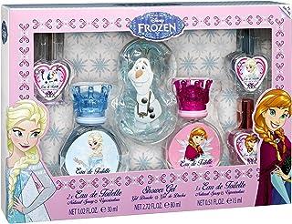Disney Frozen Beauty Cosmetics and perfume For Children, 2 Perfumes, 30 ml + 3 Perfumes 15 ml + Shower Gel, 80 ml