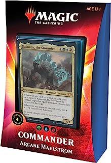 Magic: The Gathering Arcane Maelstrom Ikoria Commander Deck | 100 Card Deck | 4 Foil..