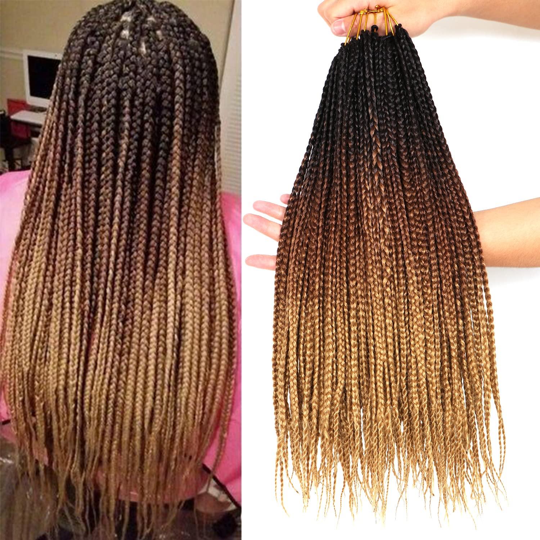 7 Packs 18 Inch Goddess Box Prelooped Hair Superlatite Braids Philadelphia Mall Crochet Croche
