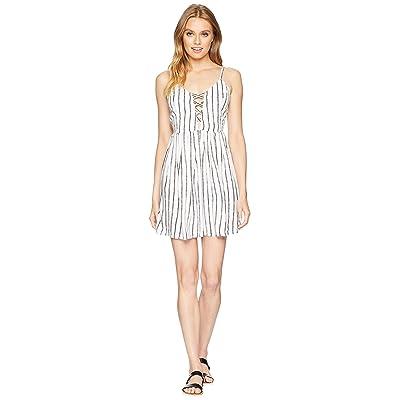 Volcom Cross Paths Dress (White) Women
