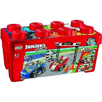 Lego City Junior 4 voiture noire Base 4 x 10 avec roues NEUF
