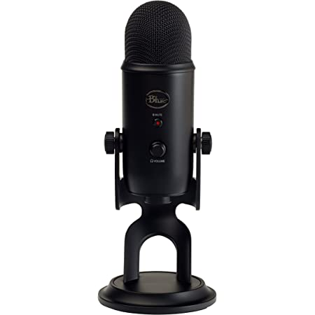 Blue Microphones Yeti USBマイクブラック 2070 指向性4モード