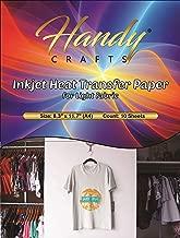 Inkjet Heat Transfer Paper for Light Fabric, 8.3