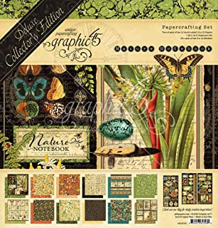 Nature Notebook DCE - Graphic 45 Deluxe Collector's Edition Pack 12 x 12 Paper-Crafting Set