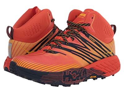 Hoka One One Speedgoat Mid 2 GTX (Mandarin Red/Gold Fusion) Men