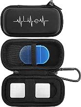 کیف YINKE برای AliveCor kardia Mobile Heart Monitor EKG / Wireless 6-Lead EKG، Travel Case Protective Cover Storage Bag (Black)