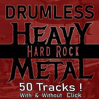 Fast Drumless Backing Track   Heavy Metal Hardcore 130 BPM w Metronome