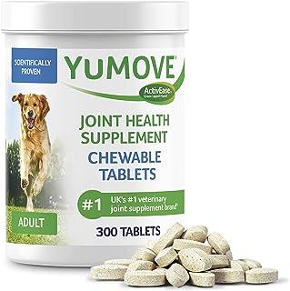 مکمل مفصل سگ ، مفصل ران و مفصل سگ های دارای گلوکوزامین ، اسید هیالورونیک و صدف و امگاس با لب سبز ، تسکین دهنده مفصل ران و مفاصل ، توسط YuMOVE