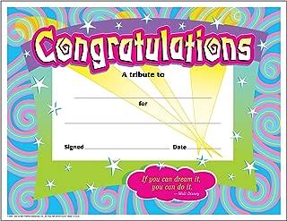 Trend Enterprises Certificate of Congratulation (TEPT2954)