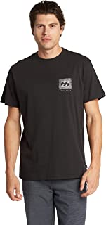 Billabong Men's Classic Short Sleeve Premium Logo Graphic T-Shirt