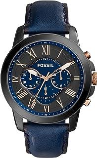 ساعة جينتس كاجوال من فوسيل ، ازرق