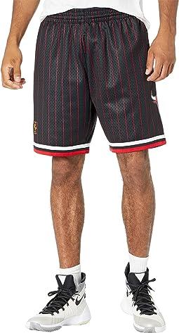 NBA Alternate Swingman Shorts Bulls 96-97