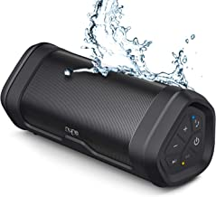 NYNE Boost Portable Waterproof Bluetooth Speakers with Premium Stereo Sound - IP67, 20 Hours Play-time, 100 ft Range, Built-in Power Bank and Mic, True Wireless Stereo, Loud Wireless Speaker