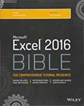 Best microsoft excel 2016 bible: the comprehensive tutorial resource Reviews