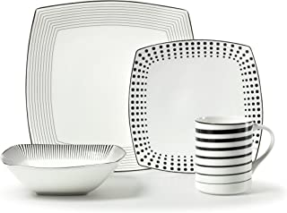 Mikasa Cheers Square 4-Piece Place Setting, Service for 1