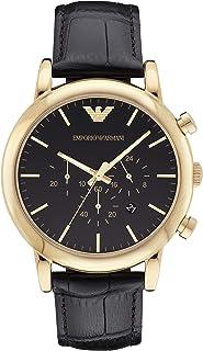 Emporio Armani Men's Chronograph Leather Watch