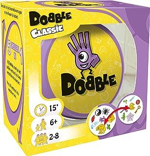 Dobble Classic NL - Kaartspel voor jong en oud - Test je snelheid, observatie en reflexen - Vijf spelvariaties mogelijk - ...