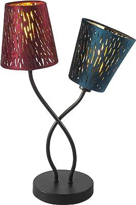 Globo 15266-2T Lampe de bureau design en velours Multicolore