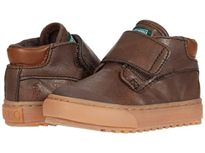 Polo Ralph Lauren Kids Wyse (Toddler) (Chocolate Burnished/Gum) Boys Shoes