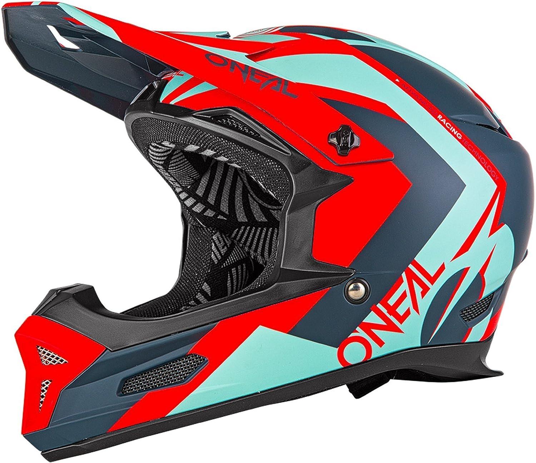 Oneal Red 2019 Fury RL Hybrid MTB Full Face Helmet