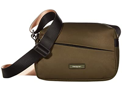 Hedgren Neutron Small Crossover (Earth Green) Cross Body Handbags