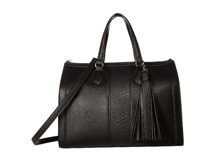 Vintage Handbags, Purses, Bags *New* Steve Madden Bjean BlackBlack Tote Handbags $65.50 AT vintagedancer.com