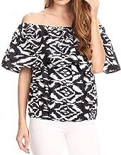 Best ikat blouse material Reviews