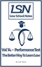 Law School Notes: Performance Test (English Edition)