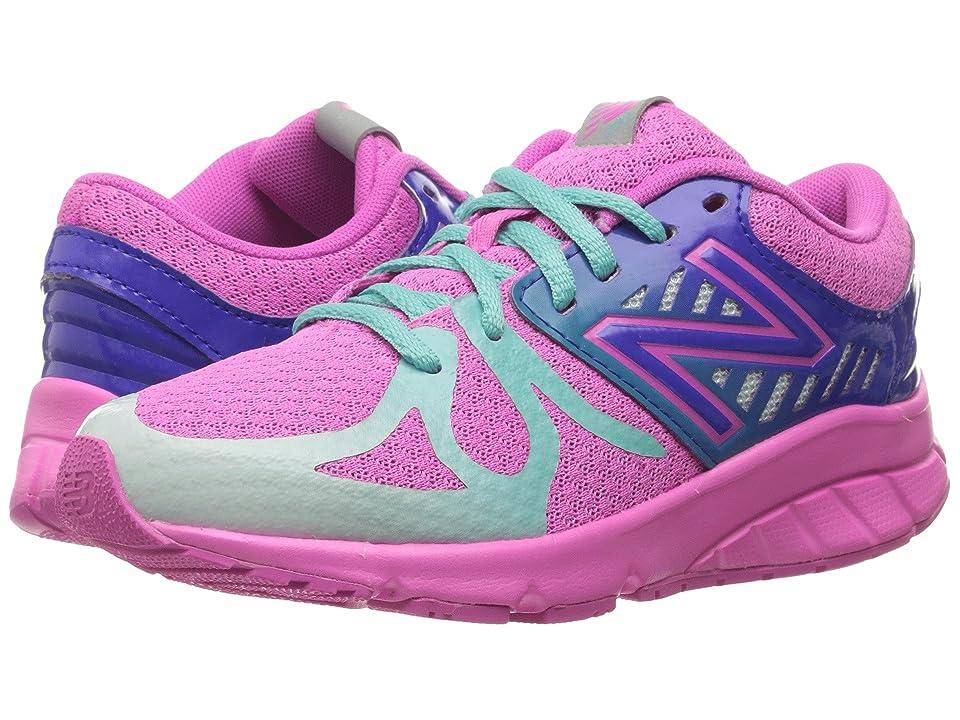 New Balance Kids 200V1 (Big Kid) (Pink/Green) Girls Shoes