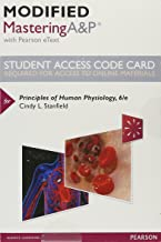 Modified Mastering A&P with Pearson eText -- Standalone Access Card -- for Principles of Human Physiology (6th Edition)